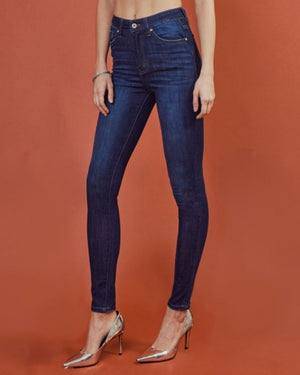 Black Bodysuit Cuffed Sleeve Top