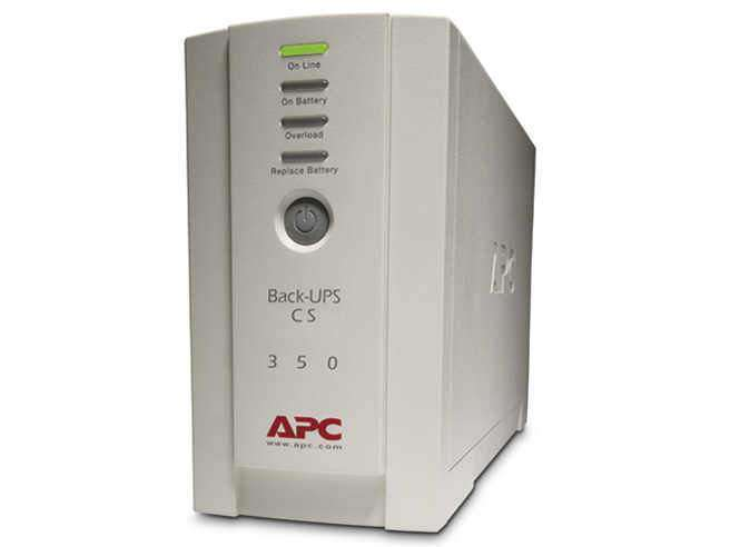 NEW (S) APC Back-ups Cs 350 - Ups - External - Standby - Ac 120 V - 210 Watts - 350