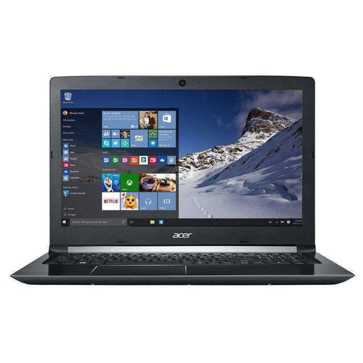 "Acer Aspire 5 A515-51-513F 15.6"" Laptop Computer - Black Intel Core i5-8250U Processor 1.6GHz; Microsoft Windows 10 Home; 8GB DDR4 RAM; 256GB Solid State Drive - PCMatrix Center"