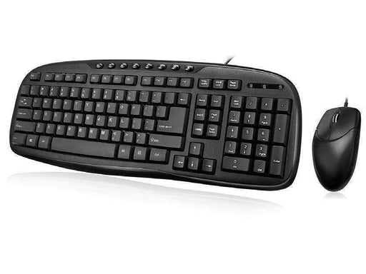 Adesso Usb Easytouch Desktop Multimedia Keyboard And Mouse Combo.  The Stylish F - PCMatrix Center