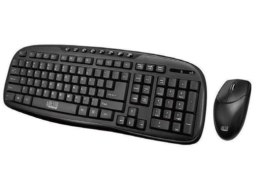NEW (S) Adesso 2.4ghz Wireless  Easytouch Desktop Multimedia Keyboard And Mouse Combo. - PCMatrix Center