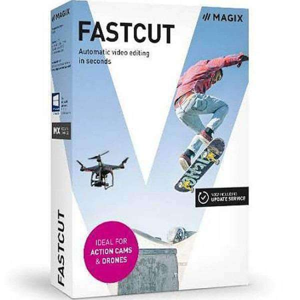 Sony Creative Software Inc Magix Fastcut Esd--DIGITAL DOWNLOAD