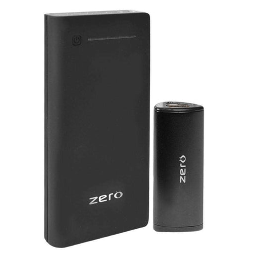 Zero Portable Laptop Battery Pack Power Bank (15000mAh) with Bonus Mini Power Bank - Charge your Laptop, Tablet & Phone! - PCMatrix Center