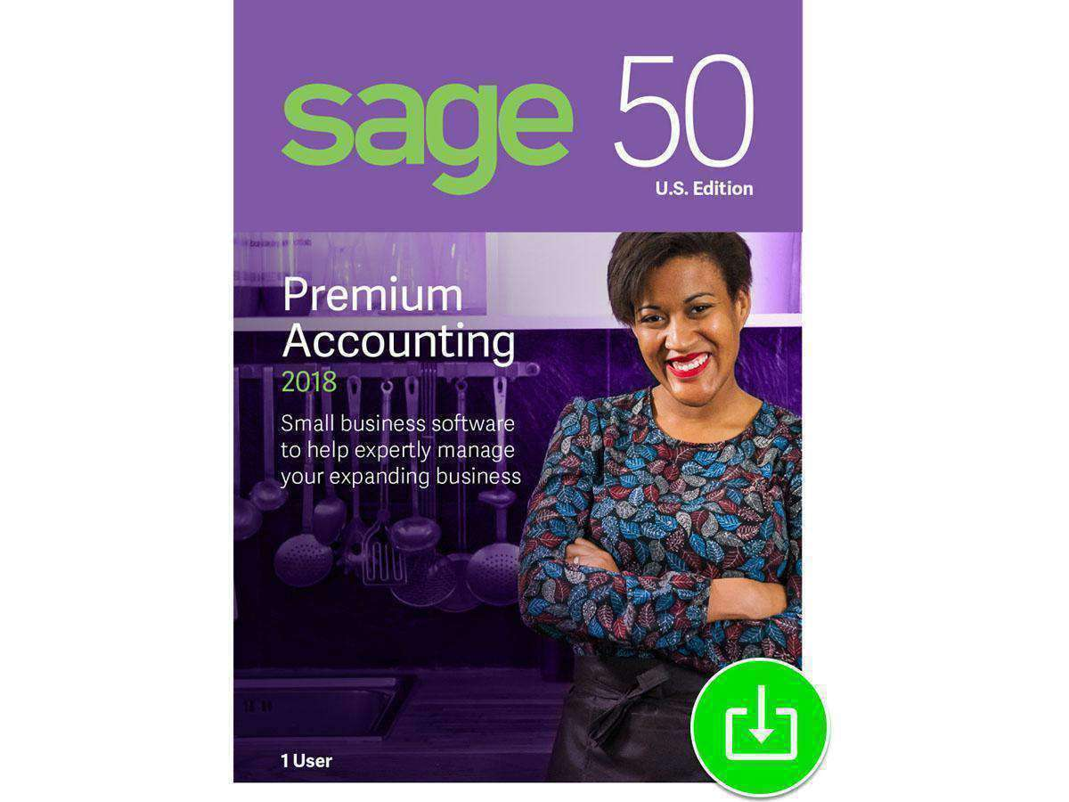 Sage Software, Inc Sage 50 Quantum Accounting 2018 1-user E-DIGITAL DOWNLOAD