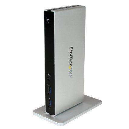 Startech Expand Your Macbook Or Laptop Into A Powerful Workstation Or Hot Desk Via Usb 3.0 - PCMatrix Center