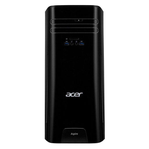 Acer Aspire TC-281-UR13 Desktop Computer AMD A10-9700 Processor 3.5GHz; Microsoft Windows 10 Home; 8GB DDR4-2400 RAM; 2TB 7,200RPM Hard Drive