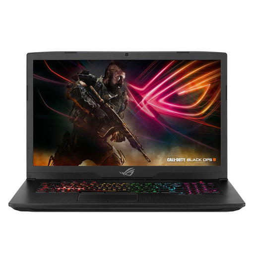 "ASUS ROG Strix Scar Edition GL703GS-DS74 17.3"" Gaming Laptop Computer - Black Intel Core i7-8750H Processor 2.2GHz; NVIDIA GeForce GTX 1070 8GB GDDR5; 16GB DDR4-2666 RAM; 256GB SSD+1TB 5,400RPM SSHD FireCuda - PCMatrix Center"