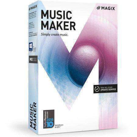 Sony Creative Software Inc Magix Music Maker Esd--DIGITAL DOWNLOAD - PCMatrix Center