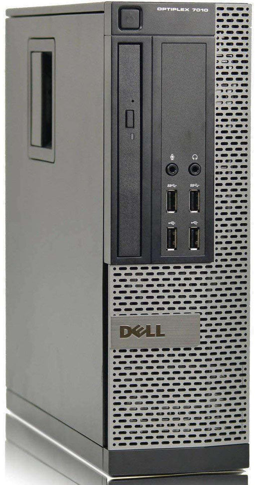 2018 Dell Optiplex 7010 Small Form Factor Business Desktop Computer, Intel Dual-Core i3-3220 up to 3.6GHz, 4GB DDR3 Memory, 160GB SSD, DVD, USB 3.0, Windows 7 Professional - PCMatrix Center