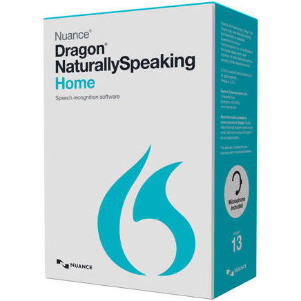NEW (S)--Nuance Communications Dragon Naturallyspeaking Home 13.0 Us En - PCMatrix Center