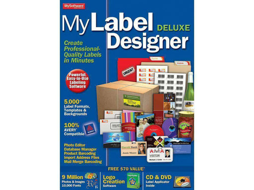 Avanquest North America Inc Mylabel Designer Deluxe Esd--DIGITAL DOWNLOAD - PCMatrix Center
