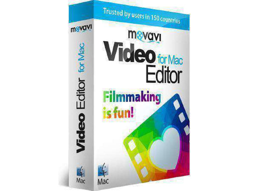 Movavi Software Movavi Video Editor For Mac Is An Easy-to-use Utility For Essential Video Editin--DIGITAL DOWNLOAD - PCMatrix Center
