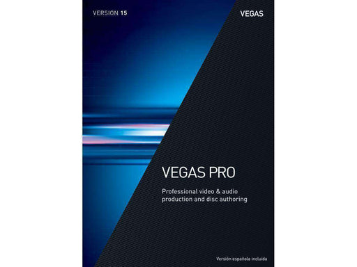 Sony Creative Software Inc Vegas Pro 15 Upg From Older Ver Esd--DIGITAL DOWNLOAD - PCMatrix Center