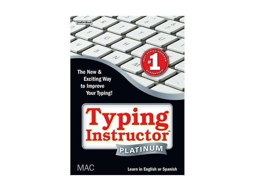 Individual Software Inc. Typing Instructor Plat 21 Mac Esd-DIGITAL DOWNLOAD - PCMatrix Center