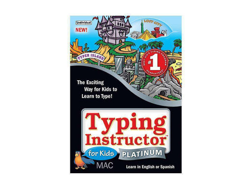 Individual Software Inc. Typing Instructor For Kid Plat 5 Mac Esd--DIGITAL DOWNLOAD - PCMatrix Center
