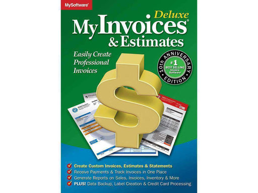 Avanquest North America Inc My Invoices And Estimates Deluxe 10 Esd-DIGITAL DOWNLOAD - PCMatrix Center