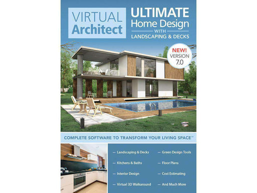 Avanquest North America Inc Virtual Architect Ult Home Design Esd--DIGITAL DOWNLOAD - PCMatrix Center