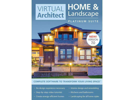 Avanquest North America Inc Virtual Architect Home-lscape Plat 7 Esd-DIGITAL DOWNLOAD - PCMatrix Center