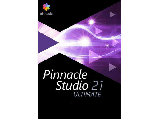Corel Creativity Meets Control With Pinnacle Studio 21 Ultimate. Create Dynamic Videos-DIGITAL DOWNLOAD - PCMatrix Center
