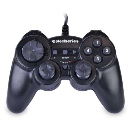 USB Rumble Gaming Controller for PC and MAC (Black) - PCMatrix Center