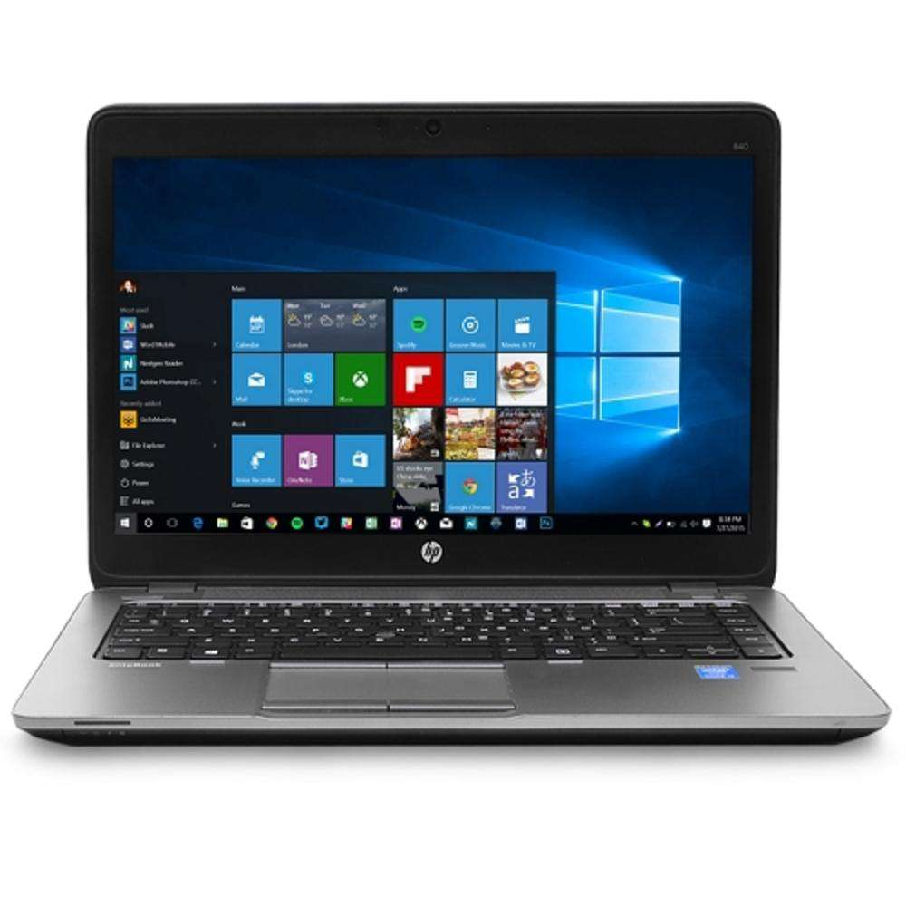 HP EliteBook 840 G2 Core i5-5300U Dual-Core 2.3GHz 4GB 128GB SSD 14 Notebook W10P w-Cam & BT