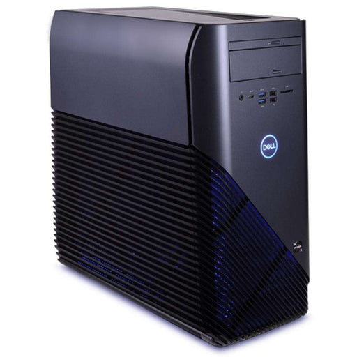 NOVATECH--Dell Inspiron 5675 Ryzen 5 1400 Quad-Core 3.2GHz 8GB 1TB DVDRW Radeon RX 570 W10H Gaming Desktop w-WiFi & Blue LEDs - B - PCMatrix Center