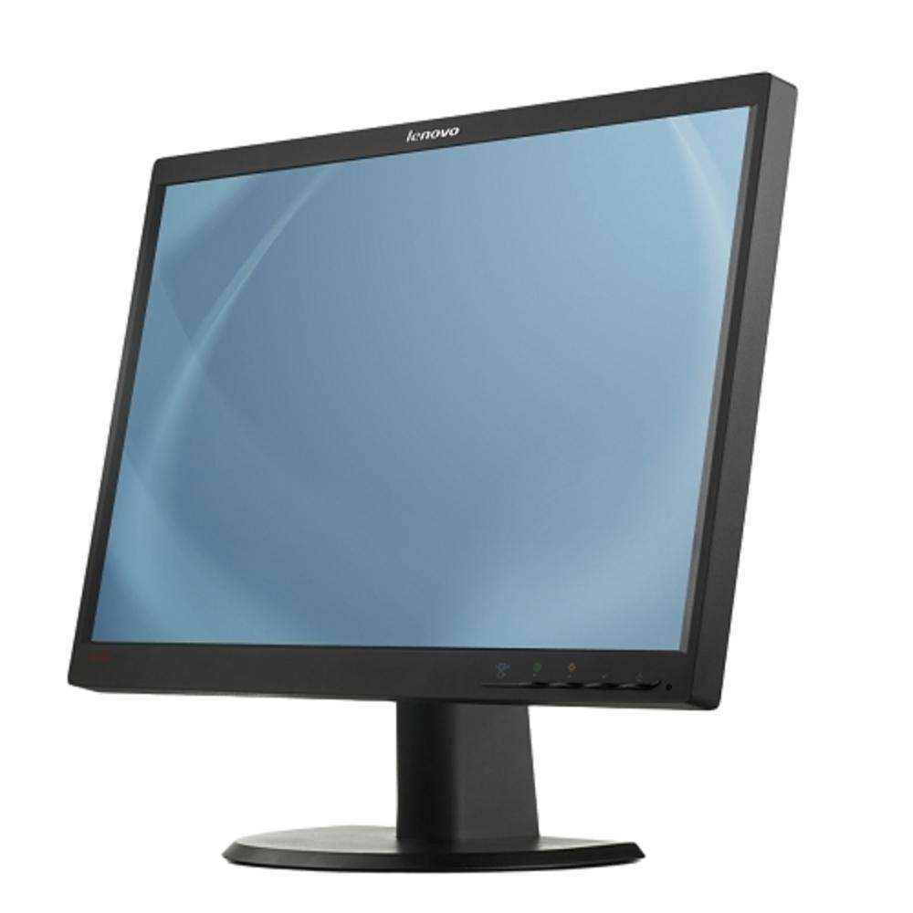 22 Lenovo Lt2252p Dvi-displayport-vga 1680x1050 Widescreen Led Lcd Monitor W-speakers (black)