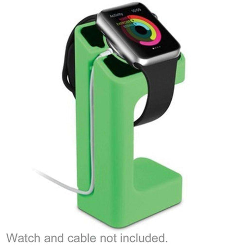 Acellories Apple Watch Charging Stand for Apple Watch 38mm and 42mm (Green) - Retail Hanging Package - PCMatrix Center