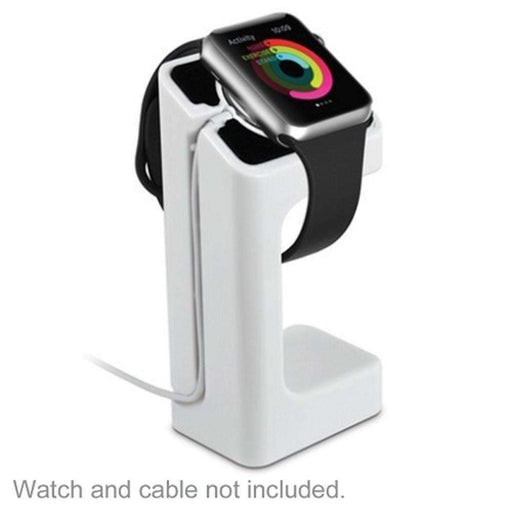 Acellories Apple Watch Charging Stand for Apple Watch 38mm and 42mm (White) - Retail Hanging Package - PCMatrix Center