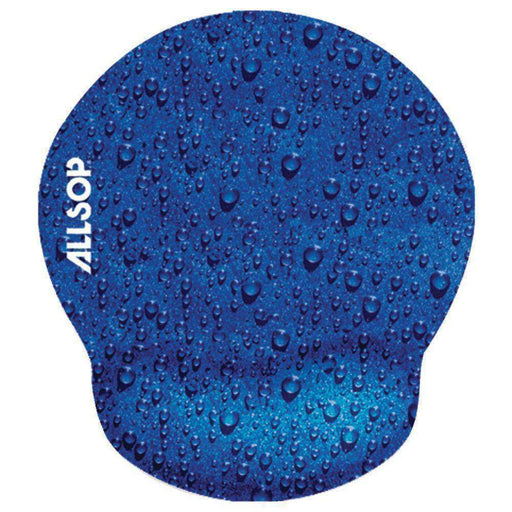 Allsop(TM) 28822 Raindrop Blue Mouse Pad Pro - PCMatrix Center