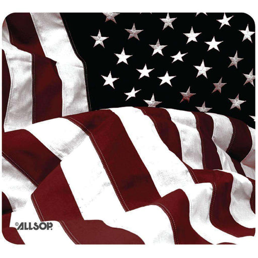 Allsop(TM) 29302 Old-Fashioned American Flag Mouse Pad - PCMatrix Center