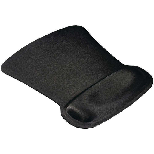 Allsop(TM) 30191 Ergoprene Gel Mouse Pad with Wrist Rest (Black) - PCMatrix Center
