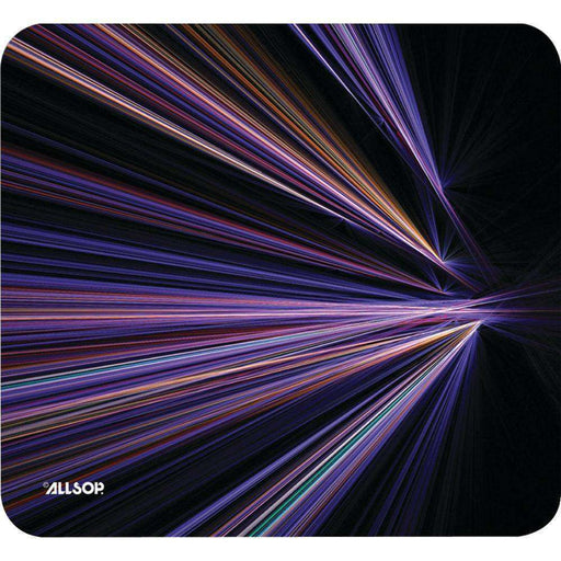 Allsop(TM) 30600 Mouse Pad (Tech Purple Stripes) - PCMatrix Center