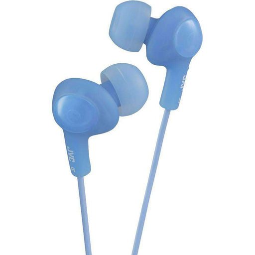 JVC(R) HAFX5A Gumy(R) Plus Inner-Ear Earbuds (Blue) - PCMatrix Center