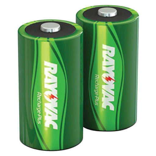 RAYOVAC(R) PL713-2 GENB Ready-to-Use NiMH Rechargeable Batteries (D; 2 pk; 3,000mAh) - PCMatrix Center