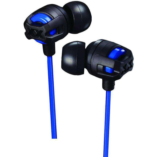 Jvc Xx Series Xtreme Xplosives Earbuds With Microphone (blue) JVCHAFX103MA - PCMatrix Center