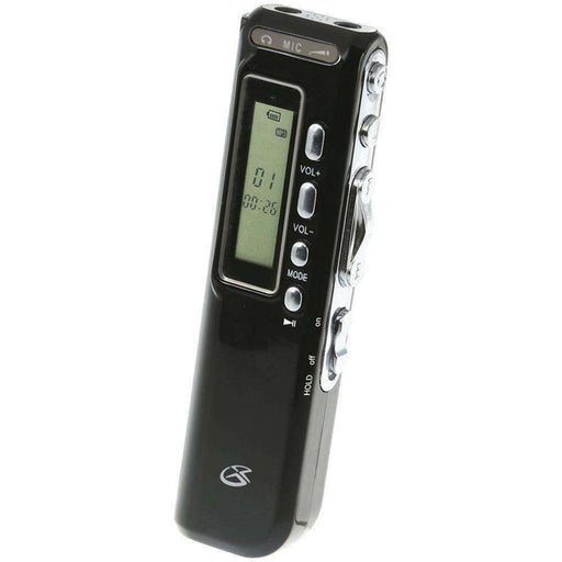Gpx Digital Voice Recorder GPXPR047B - PCMatrix Center