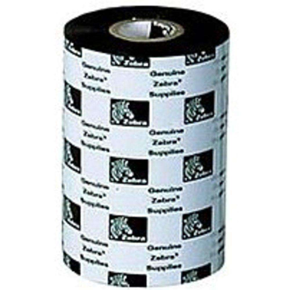 Zebra Technologies 05319BK11045-R Performance Wax Print Ink Ribbon - Black