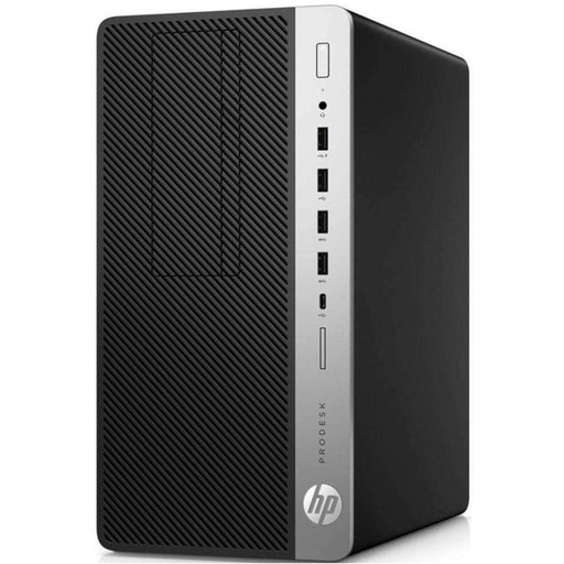 HP 3GL15US ProDesk 600 G3 MT Desktop PC - Intel Pentium G4400 3.3 GHz Dual-Core Processor - 8 GB DDR4 RAM - 1 TB Hard Drive - Windows 10 Professional 64-bit - Jet Black - PCMatrix Center