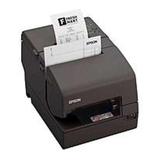 Epson C31CB25902 TM-H6000IV EDG Serial, USB Multistation Printer with PS180 - 94 Lps - 9-pin - Dark Gray - PCMatrix Center