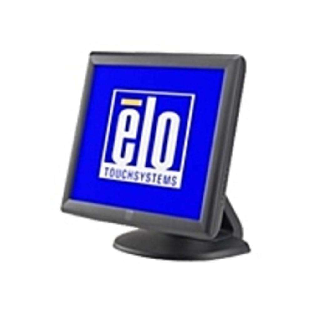 Elo E603162 1715L 17-inch LCD Touchscreen Monitor - 1280 x 1024 - 800:1 - 230 cd-m2 - 25 ms - VGA - Dark Gray