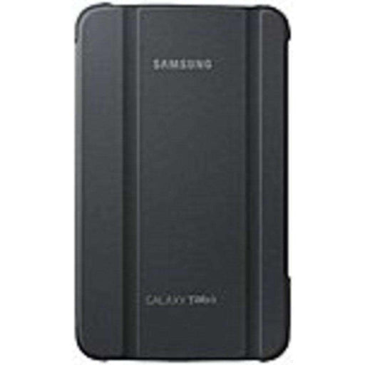 Samsung Carrying Case (Book Fold) for 7 Tablet - Gray - Synthetic Leather - PCMatrix Center