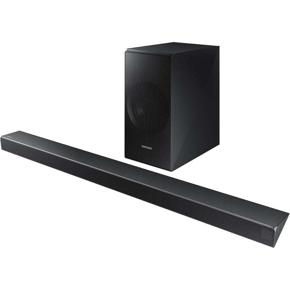 Samsung N550 3.1 Speaker System - 340 W RMS - Wireless Speaker(s) - Wall Mountable - Charcoal Black - Surround Sound, Virtual Surround Sound, DTS 5.1, DTS Digital Surround, Dolby Digital 5...