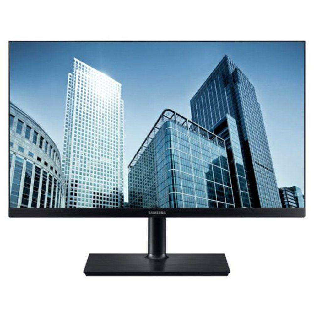 Samsung Sh850 Series S24h850qfn 24-inch Lcd Pls Monitor - 2560 X 1440 - 60 Hz - 1000:1 - 300 Cd-m2 - 5 Ms - 16:9 - Hdmi, Usb, Usb Hub - Black