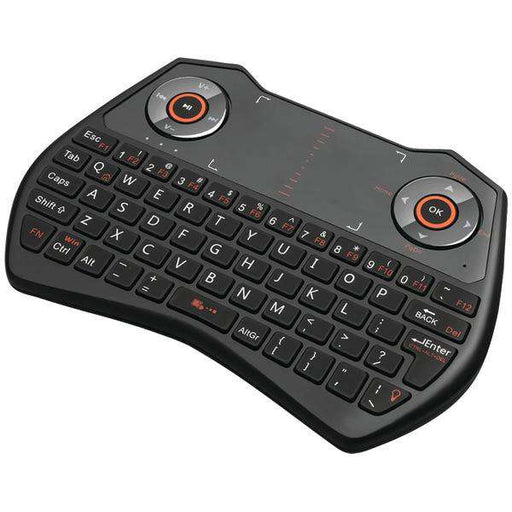 Adesso WKB-4020UB SlimTouch 4020 2.4GHz Wireless Keyboard with Touchpad - PCMatrix Center