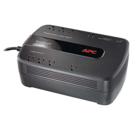 APC BE650G1 Back-UPS 650 8-Outlet 650VA System - PCMatrix Center