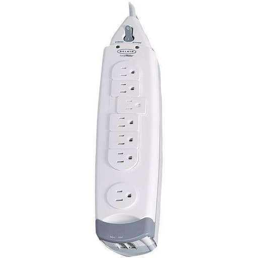 Belkin F9H710-12 7-Outlet SurgeMaster Home Series Surge Protector (12ft cord) - PCMatrix Center