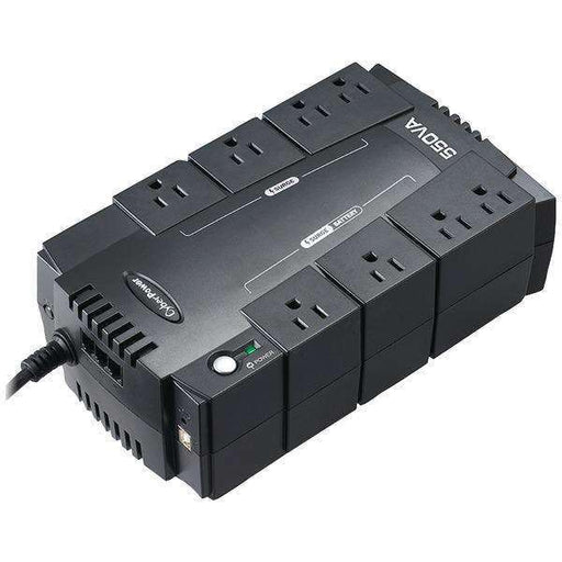 CyberPower CP550SLG 8-Outlet Standby UPS System ($100,000 connected equipment guarantee)