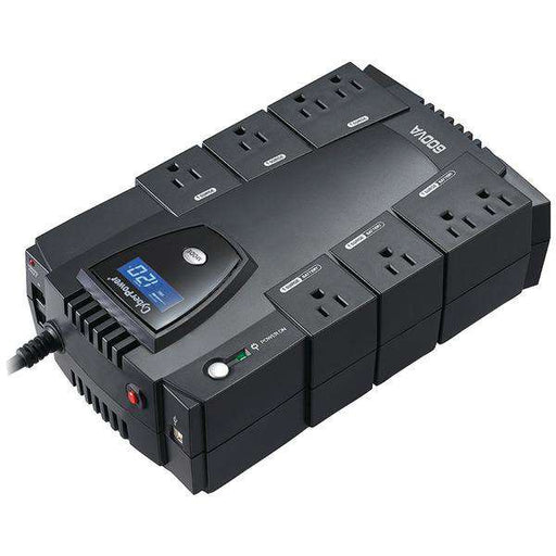 CyberPower CP600LCD 8-Outlet Intelligent LCD UPS System