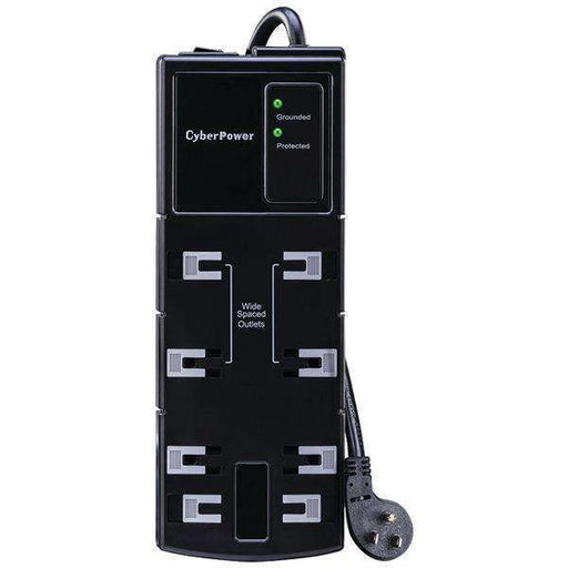 CyberPower CSB806 8-Outlet Essential Surge Protector - PCMatrix Center